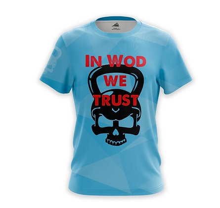 In Wod we Trust azul