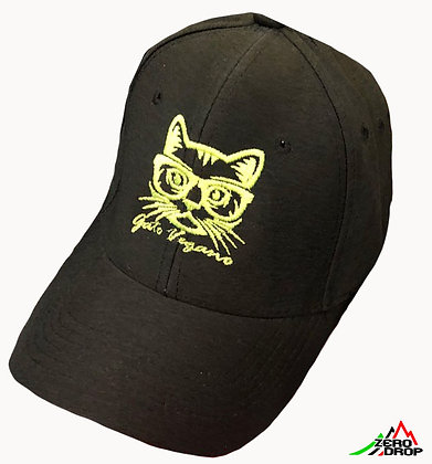 Gato Vegano cap fluo green