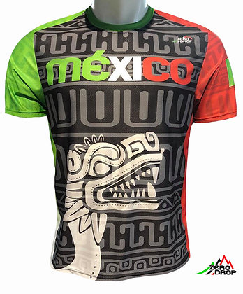 Playera - México Grecas Negra