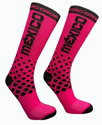 Calceta - México Fluo Pink