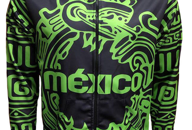 Chamarra - México Fluo Green