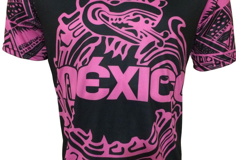 Playera - México Fluo Pink