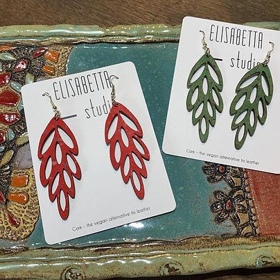 Cork Cascade Earrings