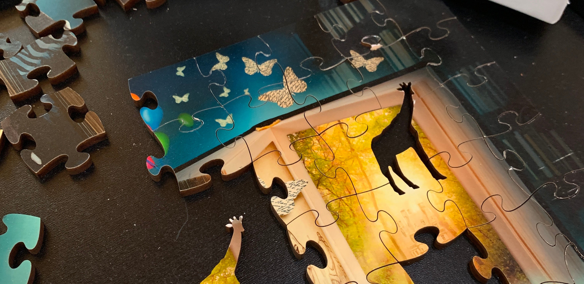 Wooden Puzzle for kids ages 4-8