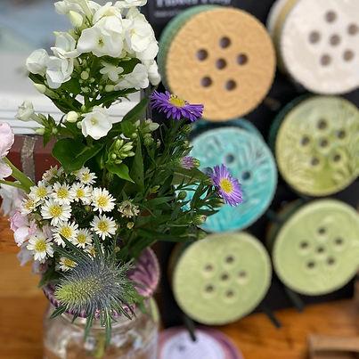 Ceramic Flower Frogs