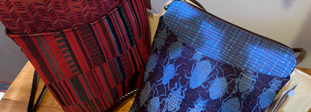 Cross Body Bag by Maruca.  Rear zip pocket.