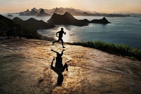 Man Running at Dawn, 2012