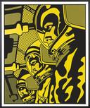 Astronauta Amarelo, 1970