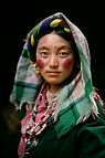 Woman in the Barkhor Lhasa2000.jpg