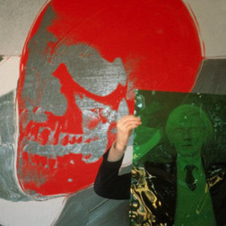 Andy Warhol Red Skull, 1981
