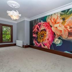 Interior mural in Christchurch