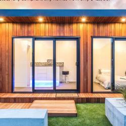 Metropol Featured Cube Cabin