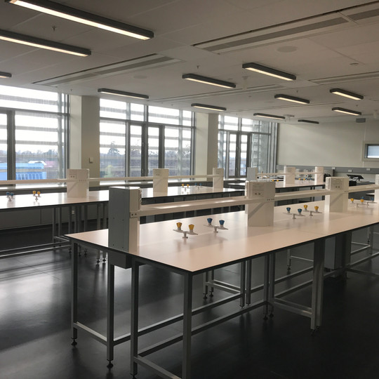 Canterbury Unversity new science labs