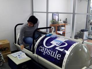 マクサスの最新福利厚生情報、酸素カプセル・・・