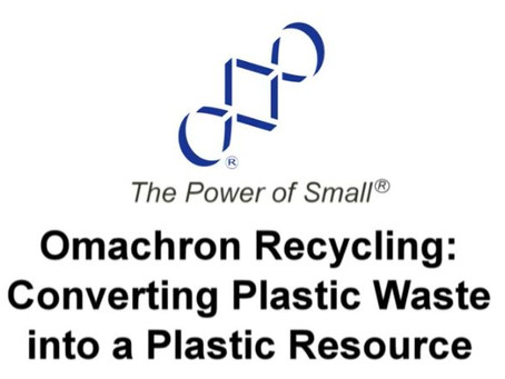 Converting Plastic Waste into a Plastic Resource
