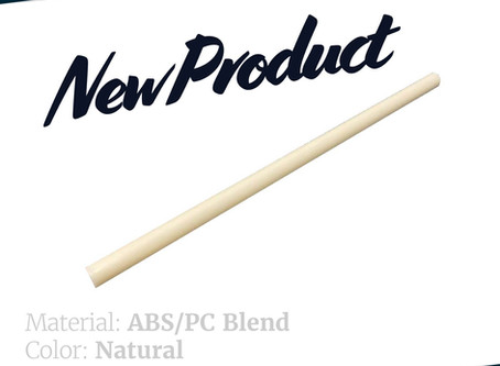 New Material Offered - PC/ABS Blend