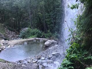 """La cascata sul Rio Ruzza a Sajant: una meraviglia """"nascosta"""""""