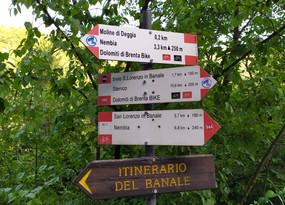 Da Andogno al Santuario di Deggia, un tratto panoramico del sentiero di S.Vili