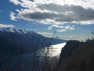 Punta Larici, vista mozzafiato sul lago di Garda
