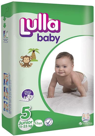 Подгузники Lulla Baby размер Junior (11-25 кг) 52 шт