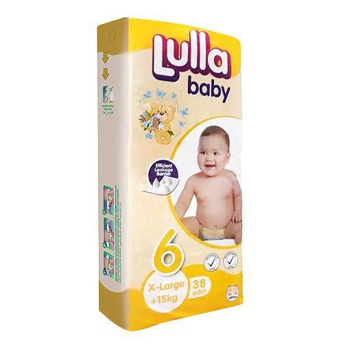 Подгузники Lulla Baby размер X-Large (15+ кг) 38 шт