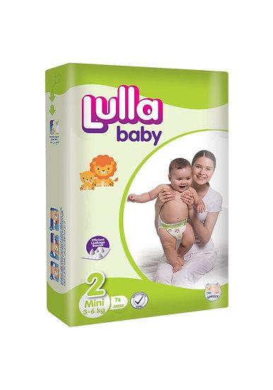 Подгузники Lulla Baby размер Mini (3-6 кг) 74 шт
