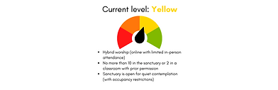 Updated COVID Decision meter - Yellow (1