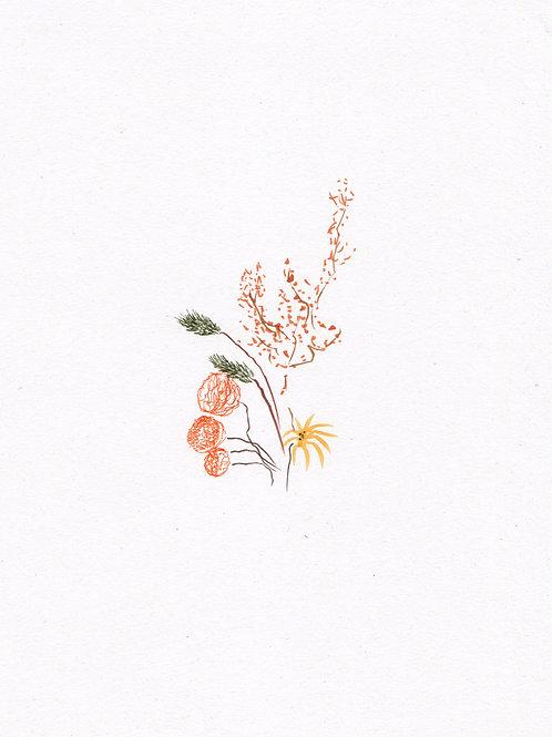Ikebana II - Impression numérotée