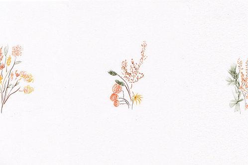 """Triptyque """"Ikebana"""""""