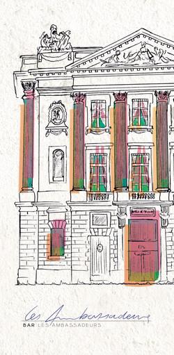 Hotel de Crillon - Bar Les Ambassadeurs