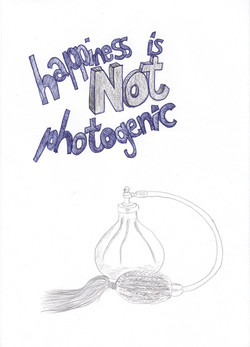 """""""Happiness is not photogenic"""""""
