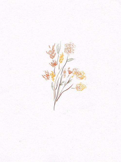 Ikebana I - Impression numérotée