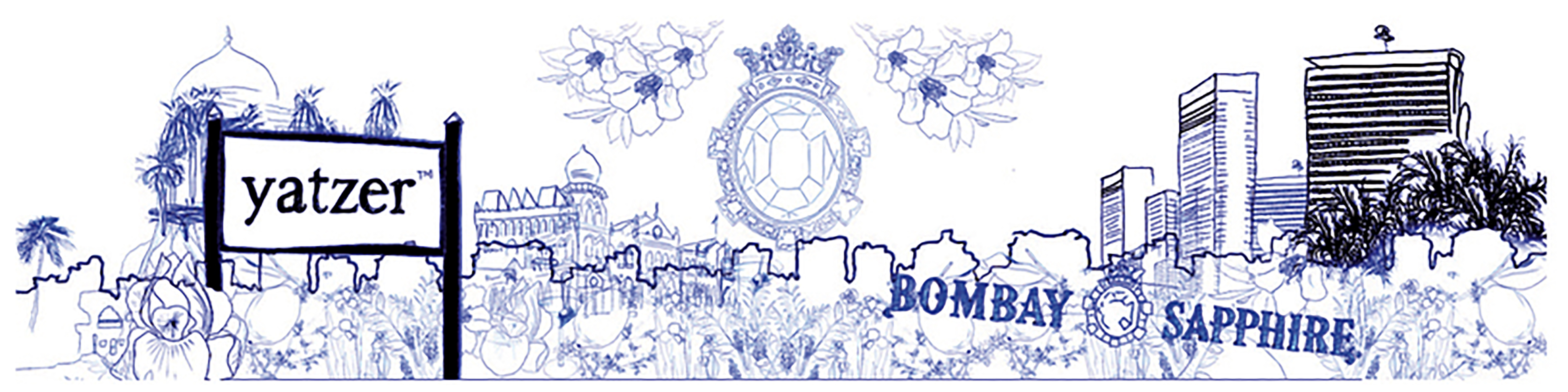 Yatzer - Bombay Sapphire