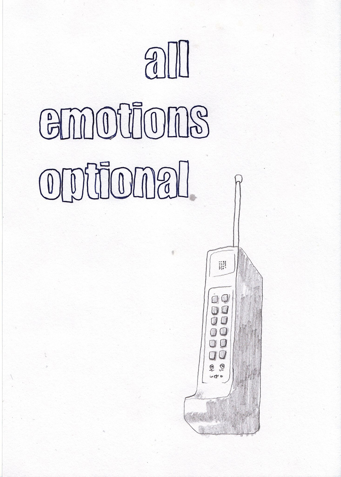 """All Emotions Optional"""
