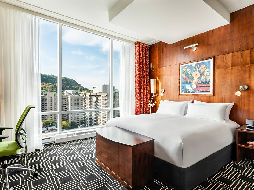 F1 Montreal Hospitality Sofitel Hotel King Bedroom