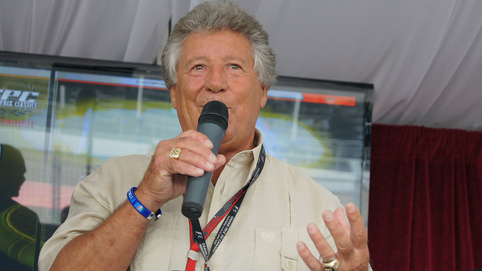 F1 Montreal Hospitality Legends Club Guest Speaker Mario Andretti