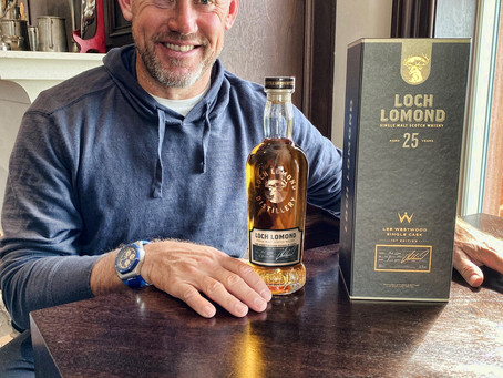 Loch Lomond Whiskies teams up with Lee Westwood with new limited edition cask