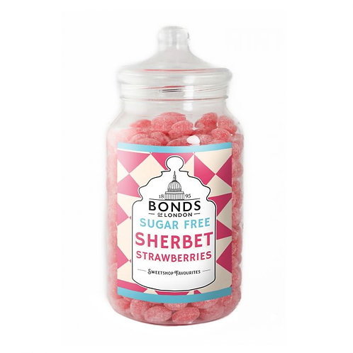 Bonds Sugar Free Sherbet Strawberries Jar 2kg