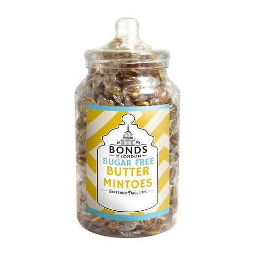 Bonds Sugar Free Butter Mintoes Jar 2kg