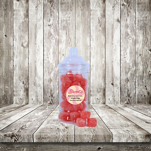 Kola cube sweet jars