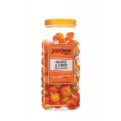 Dobsons Orange & Lemon Mega Lollies