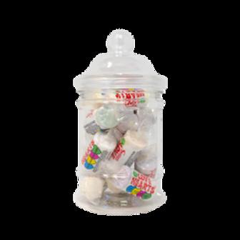 Victorian Plastic Sweet Jar 500ml
