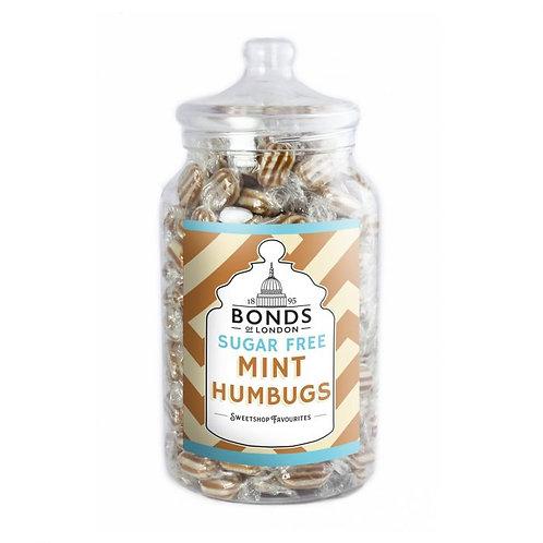 Bonds Sugar Free Mint Humbugs Jar 2kg