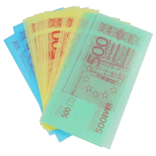 Crazy Candy Factory Edible Paper Funny Money X2