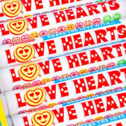 Swizzels Giant Love Heart Rolls