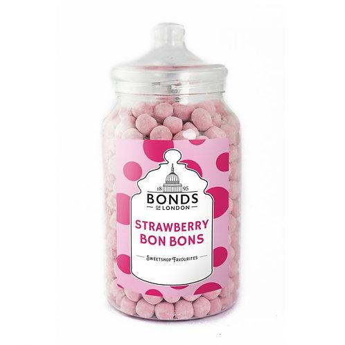 Bonds Strawberry Bon Bons Jar 2.1kg