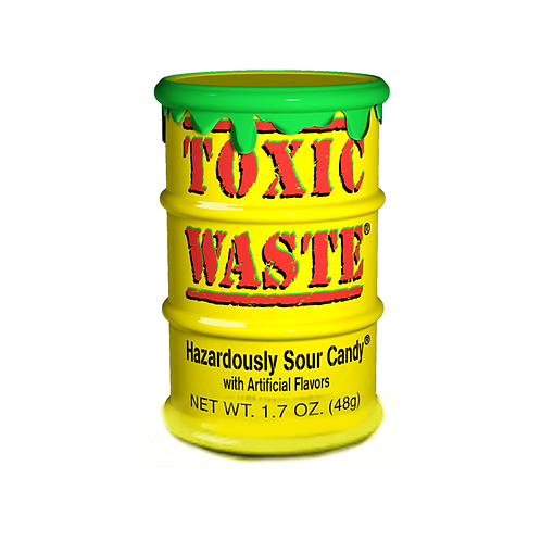 Toxic Waste Yellow Tubs