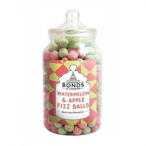 Bonds Watermelon & Apple Fizz Balls Jar 2.5kg