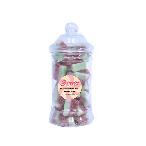 watermelon slice sweet jars