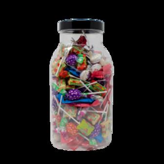Large Plastic Sweet Jar 4.5L